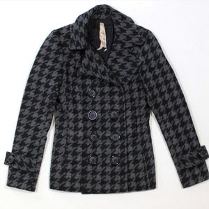 Bailey 44 Houndstooth Double Breasted Jacket